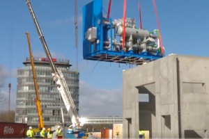 Projekt EFRA: rusza montaż kompresora dla wytwórni tlenu