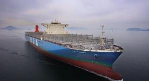Największy kontenerowiec na świecie powstał w Korei Południowej