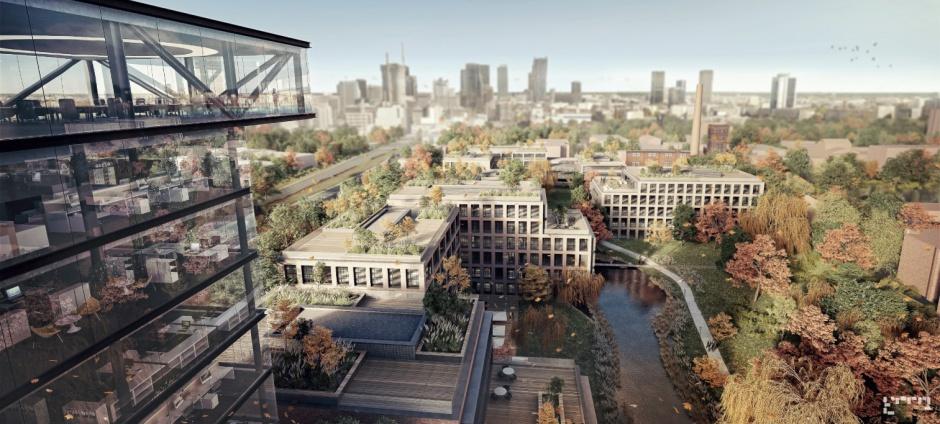 Zdjęcie numer 1 - galeria: Tak będzie wyglądała nowa siedziba PGNiG w Warszawie