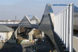 Zaawansowane prace na budowie łącznicy kolejowej w Krakowie