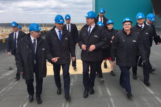 Prezydent Andrzej Duda odwiedził Elektrownię Połaniec