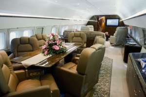 Wnętrze samolotu projektowane jest na indywidualne zamówienie. Fot. mat. pras.