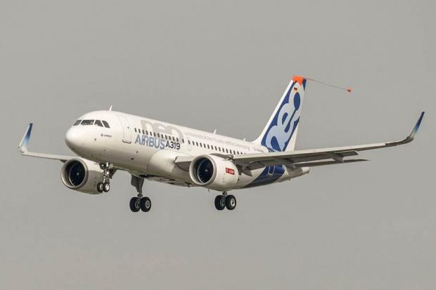 Pierwsze loty małego Airbusa