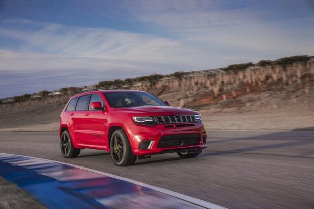 Trackhawk – najmocniejszy Jeep Cherokee w historii