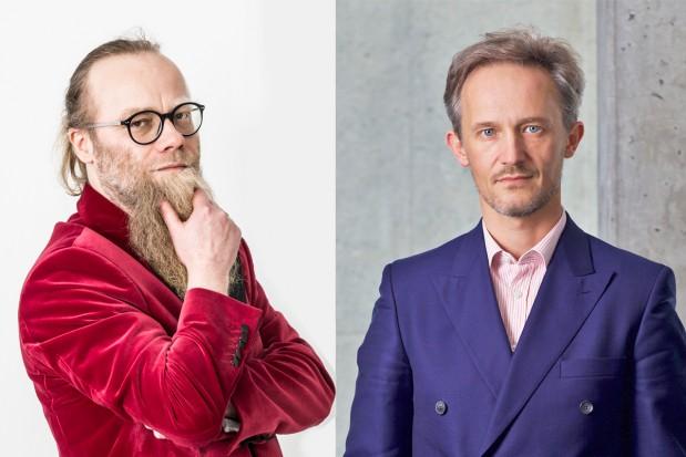 Michał Sapota, prezes Marapolu, oraz Michał Wuczyński, prezes Awbudu Fot. mat. pras.