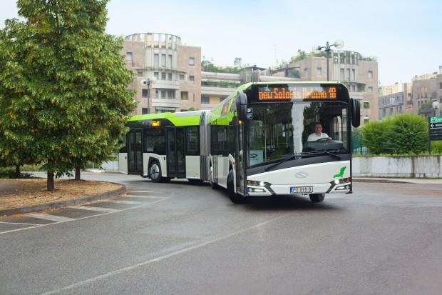 Solaris dostarczy w sumie 22 autobusy do Bergamo i Mediolanu