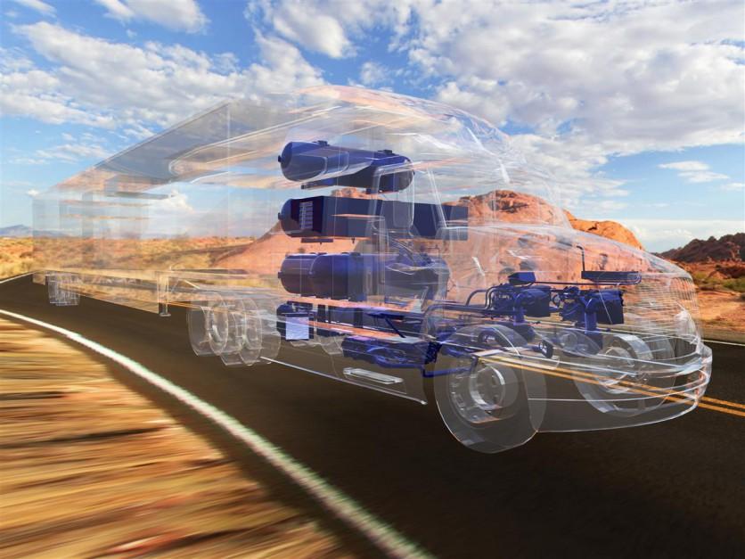 Zdjęcie numer 2 - galeria: Wodorowa ciężarówka Toyoty