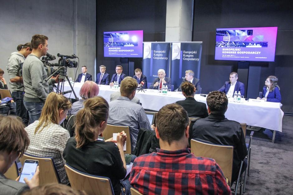 Zdjęcie numer 1 - galeria: Konferencja prasowa poprzedzająca Europejski Kongres Gospodarczy 2017