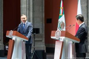 Prezydent Duda: chcemy pogłębiać relacje gospodarcze z Meksykiem