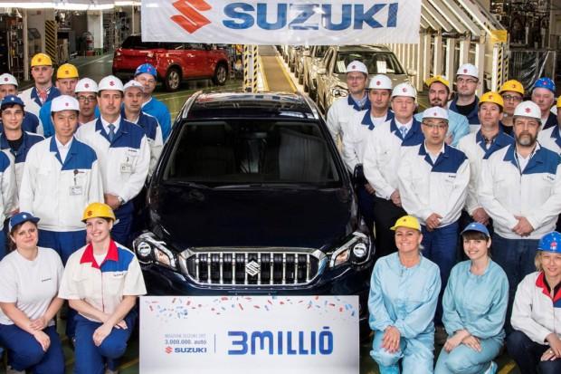 Trzymilionowe Suzuki z Węgier
