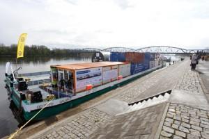 Promocja transportu towarowego Wisłą