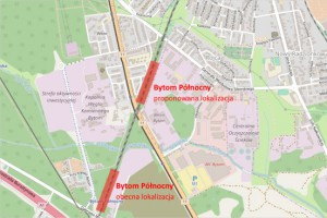 Koleje Śląskie i Bytom chcą przesunąć przystanek