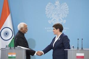 Szydło: Polska i Indie mają ze sobą wiele wspólnego