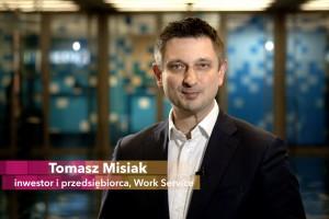 Tomasz Misiak, Work Service: inwestorzy zapraszają start-upy do Katowic