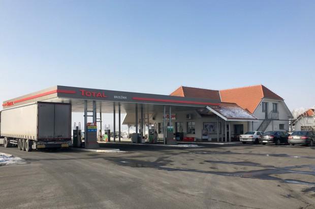Trzy nowe stacje Total