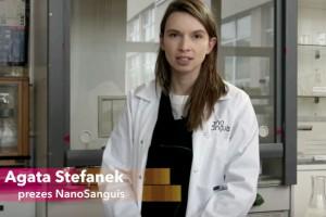 Agata Stefanek, prezes NanoSanguis, zaprasza na European Start-up Days