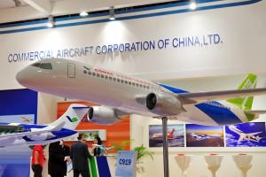 Pierwszy w historii chiński samolot pasażerski oblatany