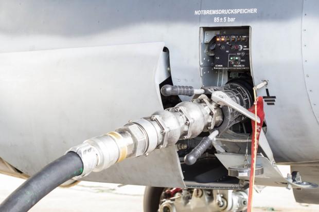 Popyt na paliwa lotnicze