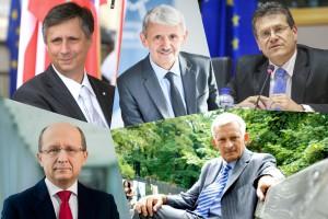 Europejscy politycy na europejskim kongresie