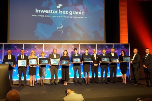 Oto Inwestorzy bez granic. Wyróżnienia Europejskiego Kongresu Gospodarczego rozdane