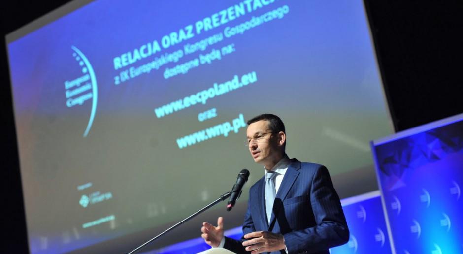 Mateusz Morawiecki podczas Europejskiego Kongresu Gospodarczego w 2017 r. fot. PTWP