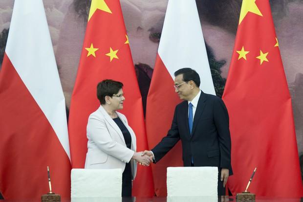 Szydło: Polska postrzegana przez Chiny jako brama do UE