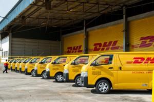 Przedświąteczna presja pracowników DHL