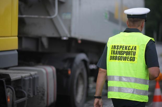Dłuższe kontrole pojazdów przez protest w ITD