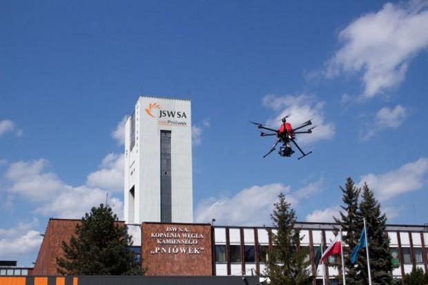 Drony wkopalniach JSW
