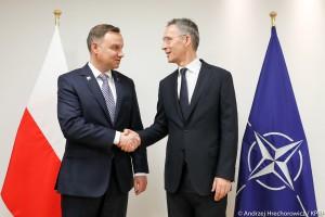 Duda: poinformowałem szefa NATO o zwiększeniu wydatków obronnych