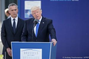 Trump wzywa do większych wydatków obronnych