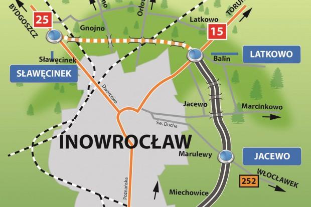 GDDKiA wybrała wykonawcę łącznika obwodnicy Inowrocławia