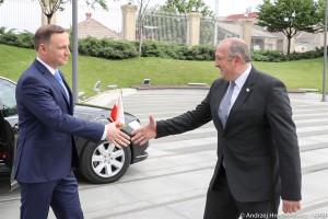 Prezydenci Polski i Gruzji podpisali deklarację o pogłębieniu współpracy