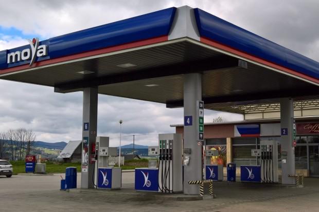 Nowa stacja Moya w Wysokim k. Limanowej