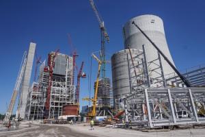 Jak przebiegają prace na budowie bloku 910 MW w Elektrowni Jaworzno III? Zobacz wideo