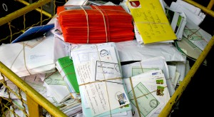 Ewakuacja poczty w Rybniku. Znaleziono podejrzaną przesyłkę