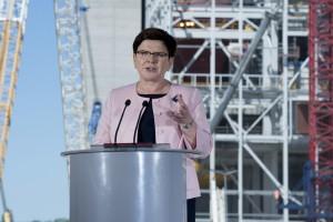 Premier Szydło: obecny rząd odbudowuje przemysł stoczniowy