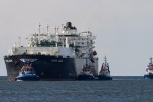 Zdjęcie numer 1 - galeria: Amerykański gaz przypłynął do Polski