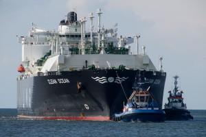 Już 25. transport LNG dotarł do gazoportu w Świnoujściu