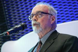 Raymond Pilcher, przewodniczący Grupy Eksperckiej Komisji Gospodarczej ONZ (UNECE) ds. Metanu z Kopalń. Fot. PTWP (Michał Oleksy)