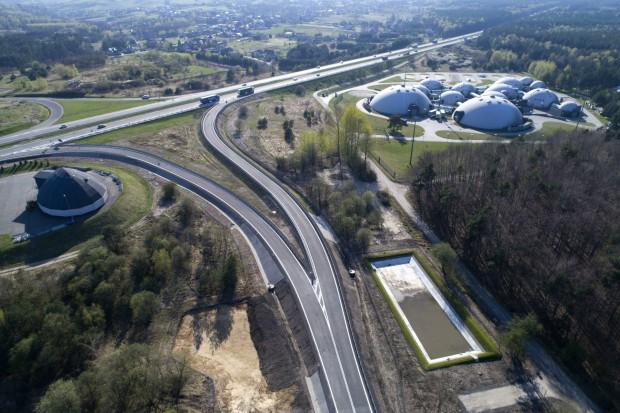 Węzeł na autostradzie A4 Katowice - Kraków rozbudowany