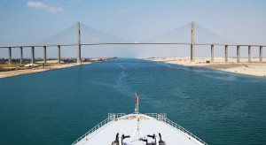 Kanał Sueski rabatami dla kontenerowców walczy z Kanałem Panamskim
