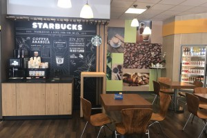 Starbucks on the go na stacjach Shell