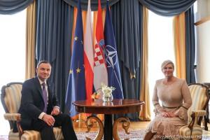 Prezydent Chorwacji: tak jak Polska chcemy Europy jednej prędkości