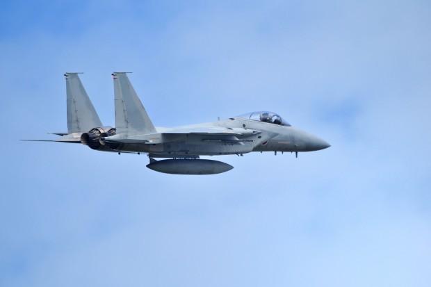 USA straciły myśliwiec F-15 w Japonii