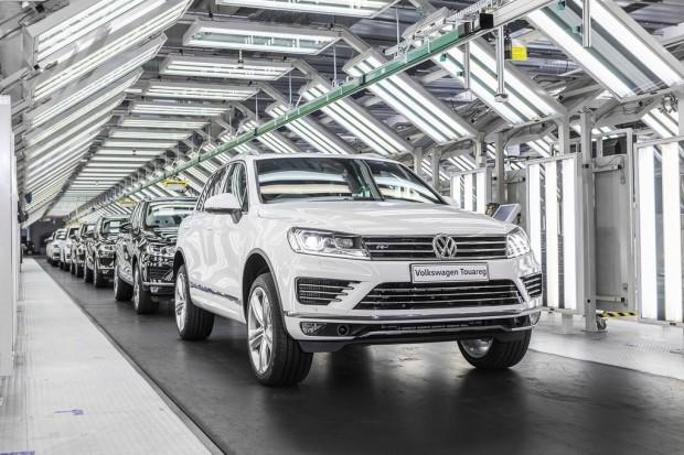 Pięciomilionowy Volkswagen z Bratysławy