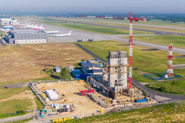 W Katowice Airport wmurowano akt erekcyjny pod nową wieżę