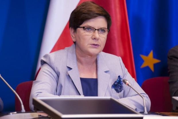 Premier Beata Szydło na targach górniczych w Katowicach