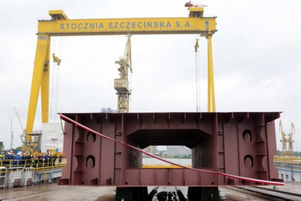 Położenie stępki w szczecińskiej stoczni to milowy krok polskiego przemysłu morskiego