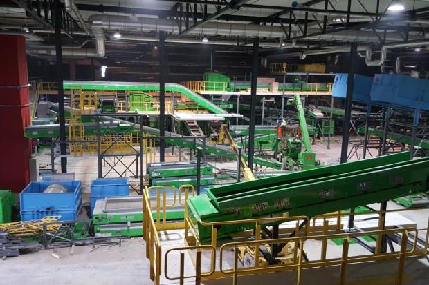 Nowy zakład unieszkodliwiana odpadów w Promniku osiągnął pełną wydajność
